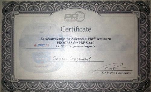 Naši stomatolozi su među prvima u Srbiji koji su prošli obuku za izdvajanje PRF